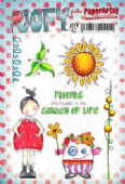 PaperArtsy JOFY Collection 42 – Friends Garden Life - JOFY42